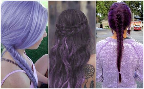 purple shoo for purple highlights purple hair colors that actually look good hair world