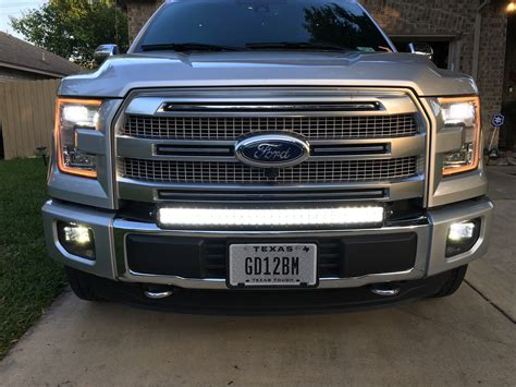 30 led light bar 30 quot curved led light bar installed page 24 ford f150
