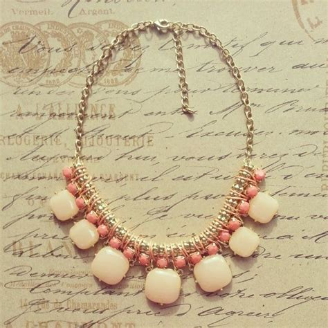 kate spade inspired statement necklace bib necklace