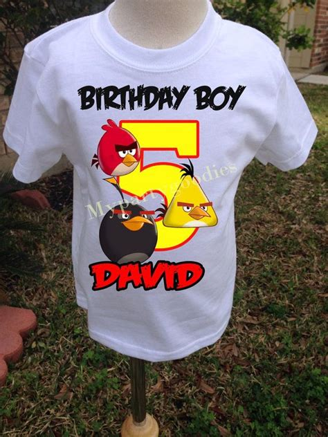 Raglan Ordinal Angry Bird 12 angry birds birthday shirt personalized angry by