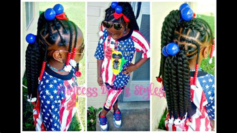 Little Girls Natural Hair   Easy Crochet Hairstyle