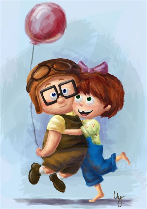 carl and ellie by madimar on deviantart 123 best images about disney s up on pinterest disney