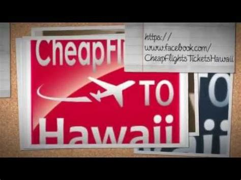 guarantee cheap flights from to hawaii airline tickets cheapest