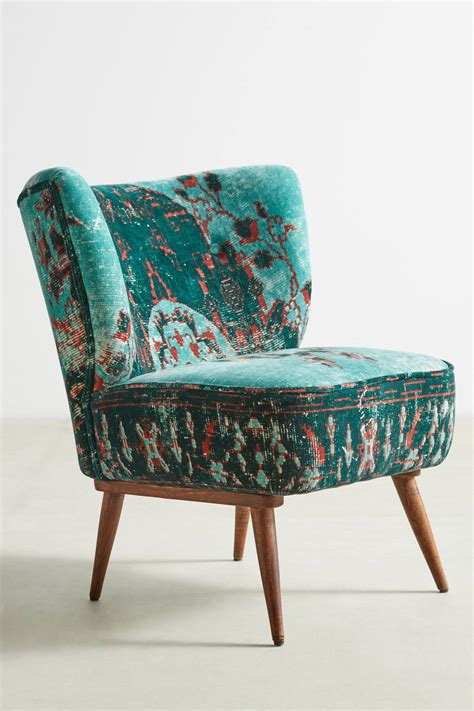 Dhurrie occasional chair anthropologie