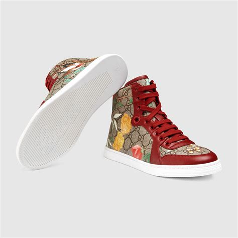 gucci sneakers womens s gucci tian high top sneaker gucci s
