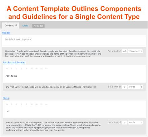template content 6 steps and one tool to clean up content messes