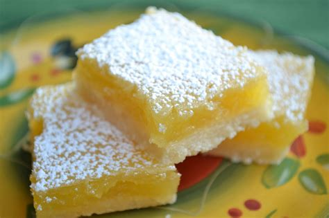 UpBeat Living: Yummy Gluten-Free (GF) Desserts, Part 5 ... Lemon Dessert Bars