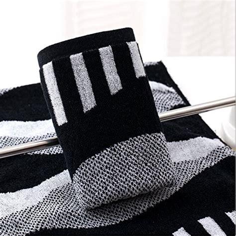 Black And White Bathroom Towels Tender Towels Black And White Stripes Towels For 100 Cotton Towels Bathroom 6