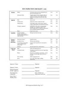 Dod Car Rental Agreement Inspection Checklist Free