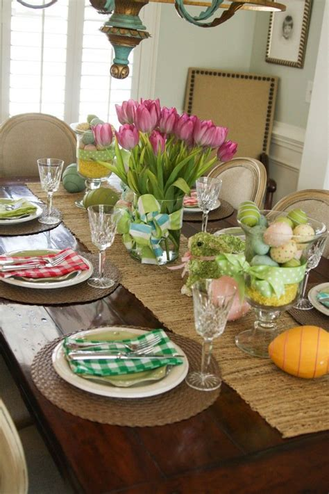 spring tablescape easter tablescape for the home pinterest