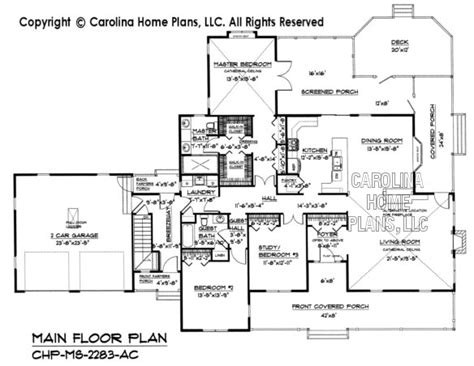 carolina home plans pdf file for chp ms 2283 ac midsize country home plan