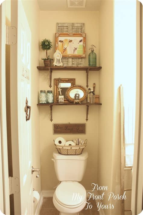 bathroom accessories decorating ideas from my front porch to yours half bath changes