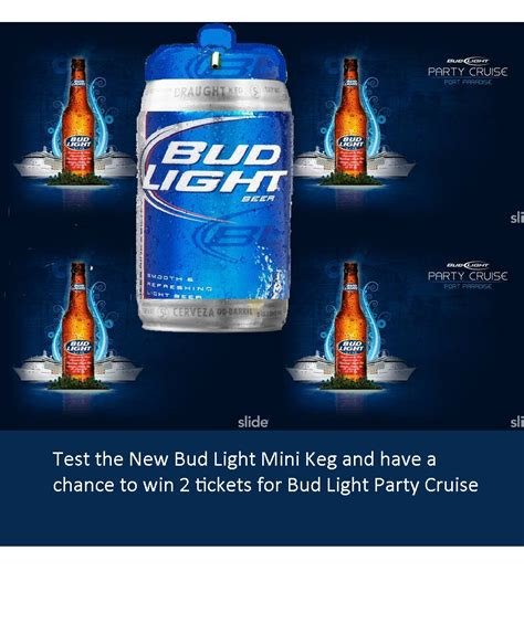 Keg Of Bud Light by Mini Keg Survey