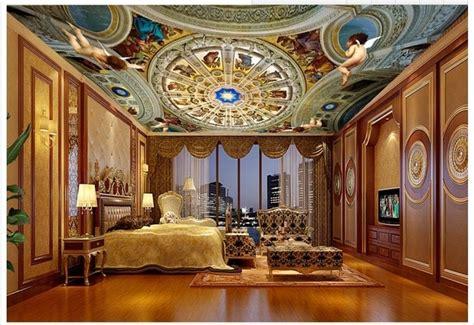 wallpaper custom  wallpaper langit langit mural royal