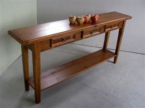 sofa rustic pine sofa table antique pine end table with