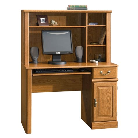 Sauder Computer Desk With Hutch Sauder Orchard Computer Desk With Hutch Carolina Oak New Free Shipping Ebay