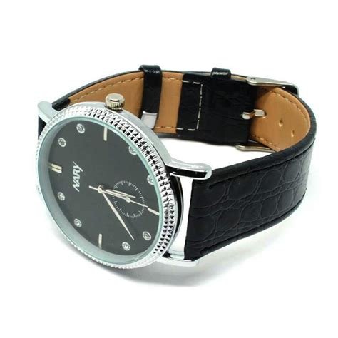 Jam Tangan Dw Leather Kulit Black 1 nary jam tangan analog kulit 9003 black silver jakartanotebook