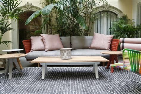patricia urquiola and kettal furnish the new oasi terrace