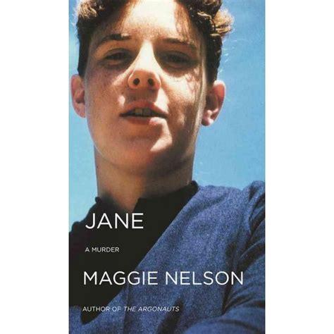 jane a murder jane a murder reissue paperback maggie nelson target