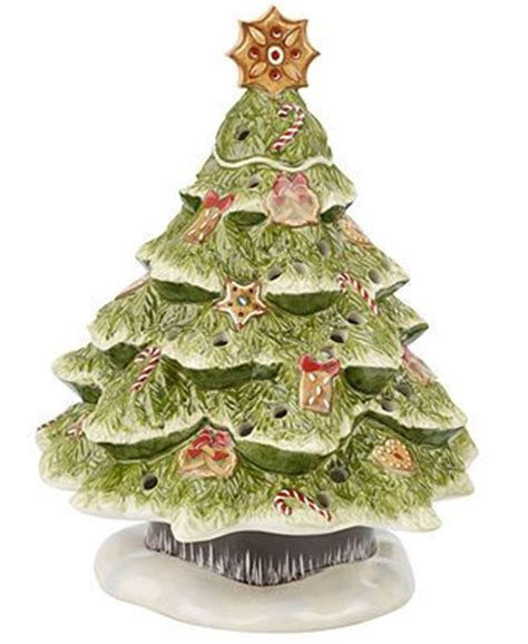 villeroy boch light up fairytale park gingerbread tree