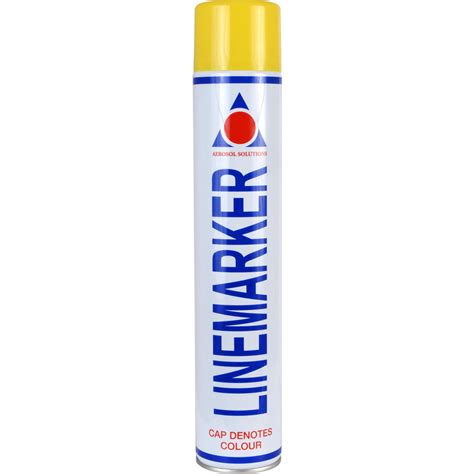 marking spray paint line marking spray paint 750ml yellow toolstation