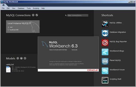 cara membuat database pada mysql workbench mengenal mysql workbench sekilas access terapan