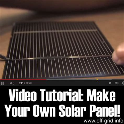 grid solar build your own affordable grid solar system books tutorial make your own solar panel grid