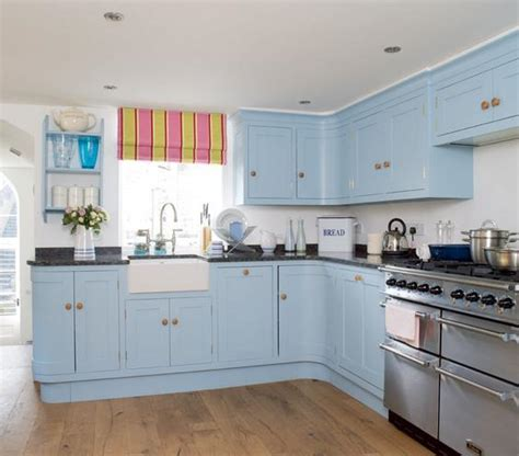 blue green kitchen cabinets 15 refreshing kitchen color ideas