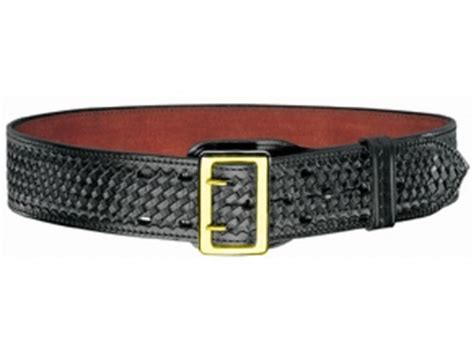 bianchi b2 sam browne belt 2 1 4 brass buckle suede lined