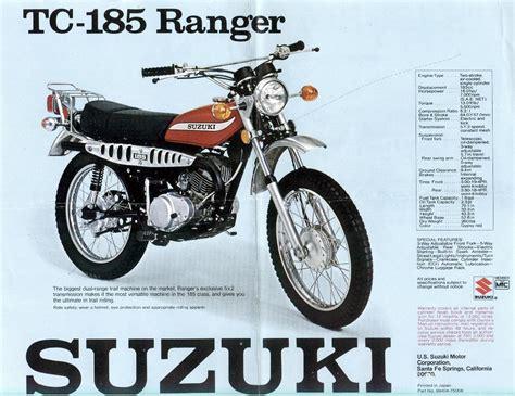 Suzuki Tc185 1975 Suzuki Tc185 Ranger Suspension Suspension Thumpertalk