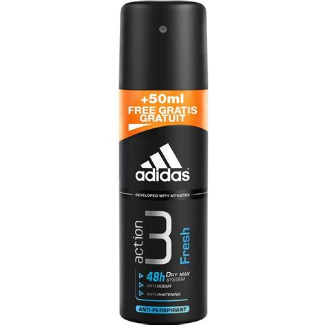 Adidas Deodorant Spray functional deodorant spray fresh for by adidas
