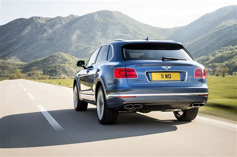 bentley new suv new bentley bentayga diesel meet the world s brawniest