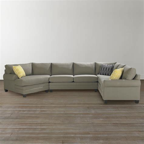 couch sectionals cu 2 left cuddler sectional sofa bassett home furnishings