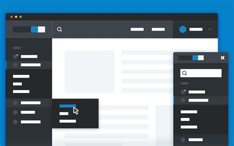 html side menu bar template responsive sidebar navigation coding fribly