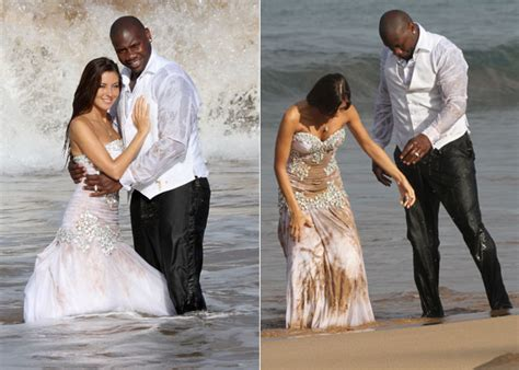 ron howard eagles ryan howard plays trash the dress with his bride