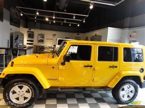 yellow jeep wrangler unlimited detonator yellow 2011 jeep wrangler unlimited 4x4