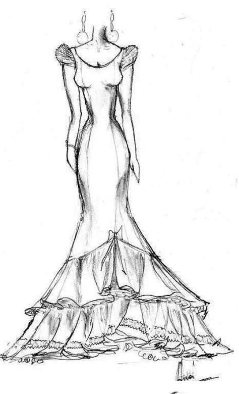 imagenes de vestidos de novia para colorear vestidos de novia dibujos imagui