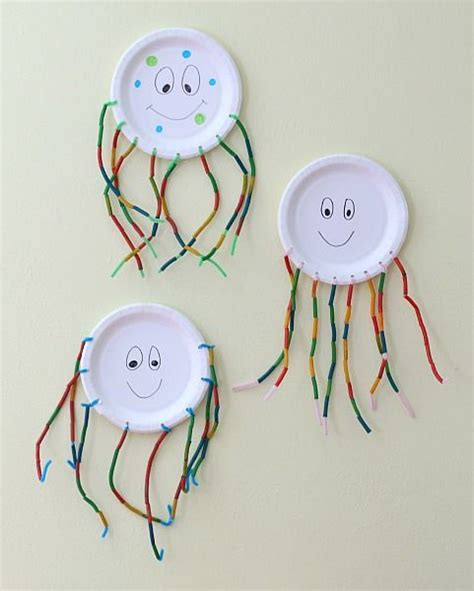 Paper Plate Octopus Craft - 1000 ideas about octopus crafts on crafts