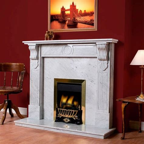 Victorian Corbel Natural Stone Fireplace   Hagley Stoves
