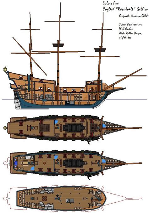 pirate ship floor plan sailing ship deck plans google search ships sailors