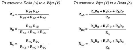 resistor y dan delta kbreee delta transforms