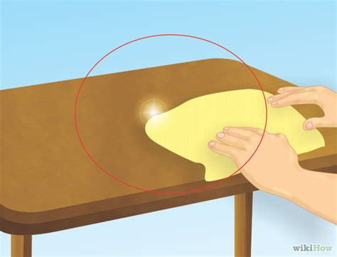 how to get wax a table how to get beeswax a counter top or table surface 5 steps