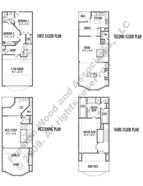 duplex townhouse plans duplex townhouse plan c9012 u4