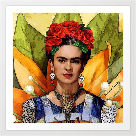 MI BELLA FRIDA KAHLO Art Print by ArtFriKa   Society6