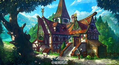 fantasy houses design art inspirations for the day hangaroundtheweb