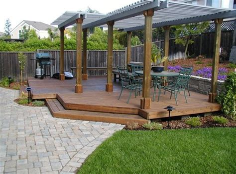 backyard deck designs floating deck pictures