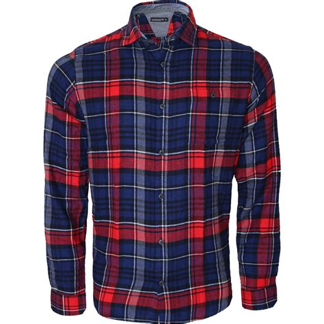 Shirt Moskav Lumber Flannel new mens flannel lumber check brushed casual cotton work shirt sleeve m 5xl ebay