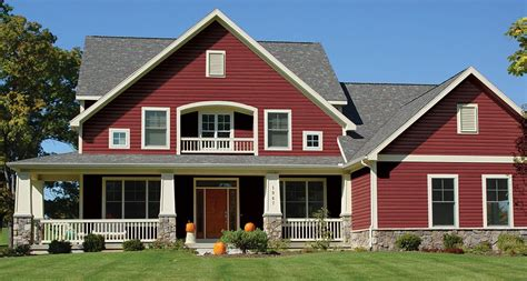 red siding house vinyl siding colors houses