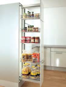 Pull Out Pantry by Pantry Cupboard 300mm Pantry