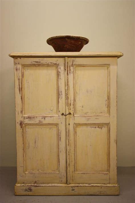 Pine Cupboard Antique Painted Pine Two Door Cupboard Antiques Atlas